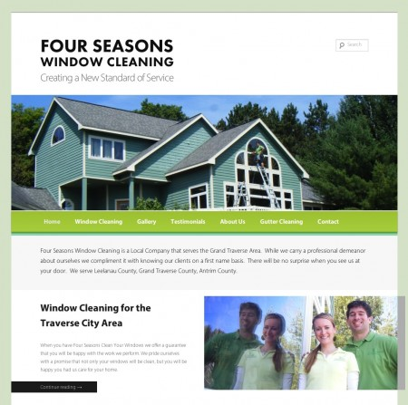 Four Seasons Window Cleaning | Creating a New Standard of Service